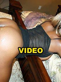 Black webcam model Coco Pink invites a white guy over and lets him taste her furpie