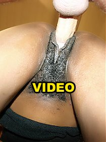 Coco Pink shows us her full bush and enjoys hot interracial sex during a cam show