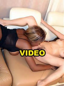 Coco Pink and Leilani Ai are hot and hairy hotties enjoying their first interracial lez out